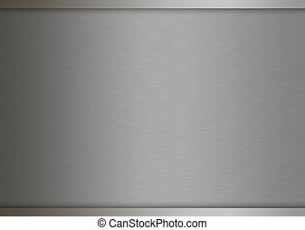 Metal texture background. brushed silver. - Metal texture...