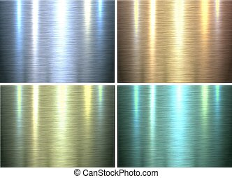 Metal texture backgrounds