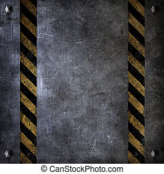 metal texture - illustration of an old metal background