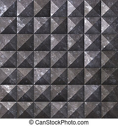 metal texture - 3d rendered illustration of an abstract...