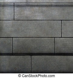 metal texture - photoshop painted texture of a metal wall