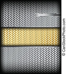 Metal texture. Vector background
