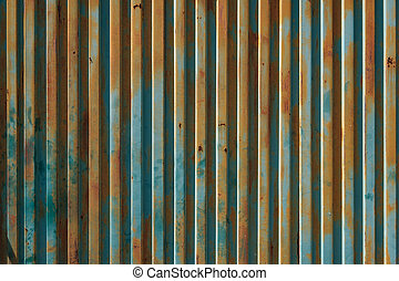 metal texture vintage background - old rusty wall -