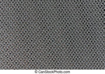 Metal texture with square pattern use for background.