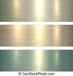 Metal textures light green