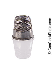Metal thimble isolated