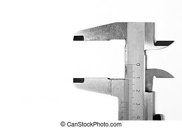 Metal Trammel isolated on a white background