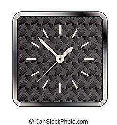 Metal Tread Clock Face