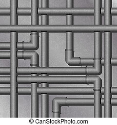 Metal Tube Background