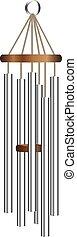 Metal tube wind chime