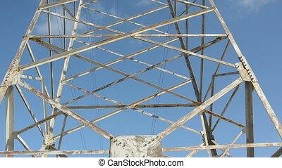 utility pole and camera rotation - metal utility pole and...