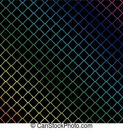 metal wire background