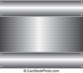 Metal wire fence background
