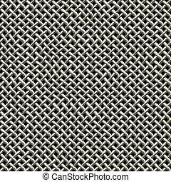 Metal Wire Mesh Pattern