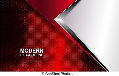 metalen, rood, silhouette, textuur, hoek, richtingwijzer, tint, maas, achtergrond, witte