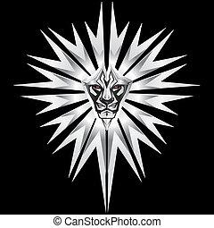 metalic, ライオン