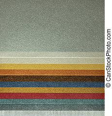 metalic color stripes