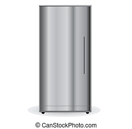 metalic, réfrigérateur