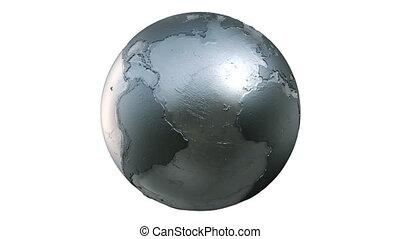 metalic, terra planeta, fiar, volta