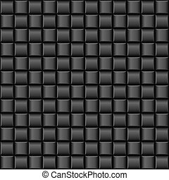 Metalic texture - Abstract black Cell textures. Illustration...