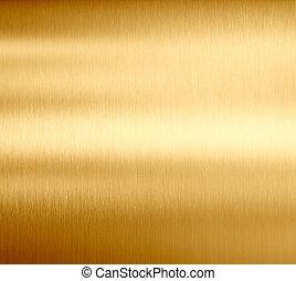 metall, gold, beschaffenheit