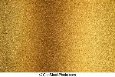 metall, gold, hintergrund