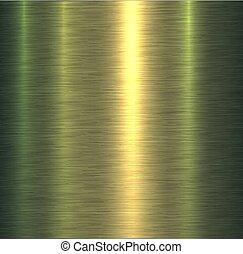 metall, grün, beschaffenheit