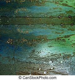 metall, grunge, rost, hintergrund, textured