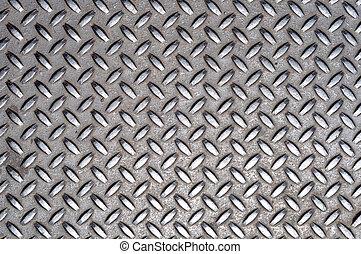 metall, kors, galler, struktur