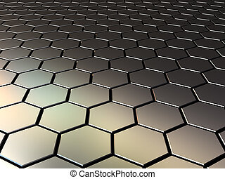 metall pattern - abstract 3d illustration of steel pattern ...