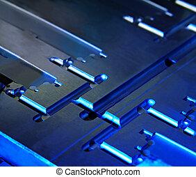 Metallic Abstract - Metallic abstract ~ core of injection...