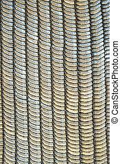 metallic armor