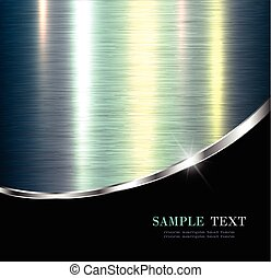Metallic background - Elegant metallic background, design.