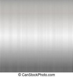 Metallic Background - Brushed Silver Metallic Background,...