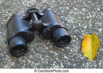 Metallic Black Hand Binoculars or Field Glasses