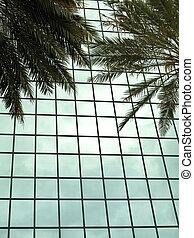 Metallic building exterior