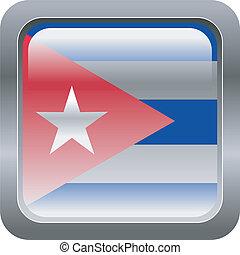 metallic button Cuba