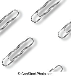 metallic clips pattern
