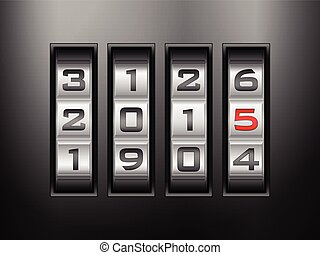 combination lock 2015