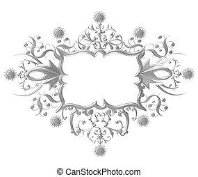 metallic Crest silver