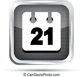 date icon on a white background