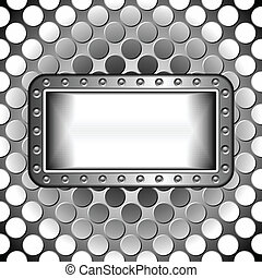 metallic design abstract