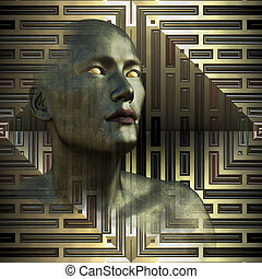 Metallic Future - Blind Seer