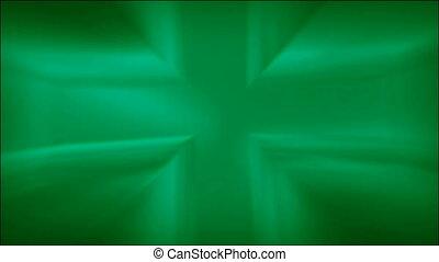Metallic Green Cross Loop HD