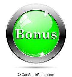 Metallic green glossy icon