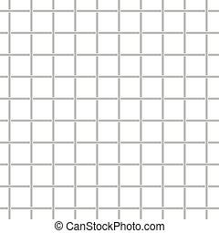 Metallic grid seamless