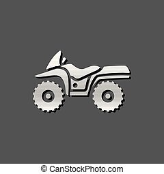 Metallic Icon - All terrain vehicle