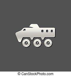 Metallic Icon - Armored vehicle