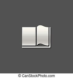 Metallic Icon - Books