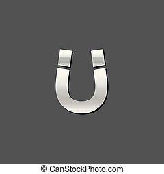 Metallic Icon - Magnet